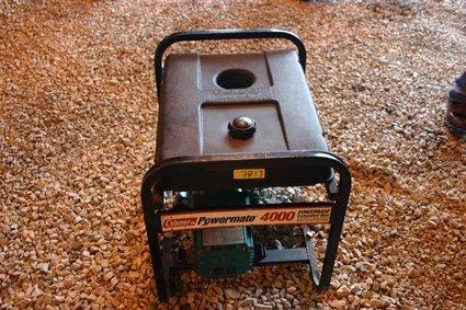 17: Coleman Power Mate Portable Generator 4000 - NR