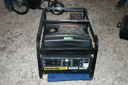 18: Master Portable Generator MGH 4000 CI Honda - NR