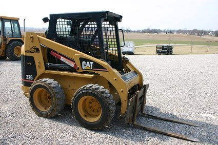 79: Cat Model 226 Skid Steer Diesel Engine 1522 Hrs NR