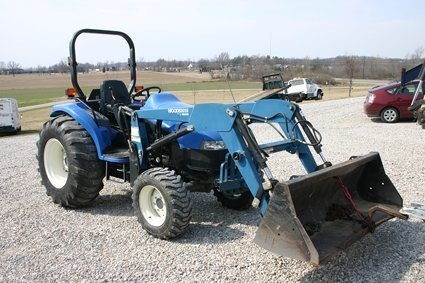 84: New Holland TC 35D Tractor & Loader 1107 Hours NR