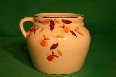 33: Rare Hall Jewel T Autumn Ware One (1) handle jar