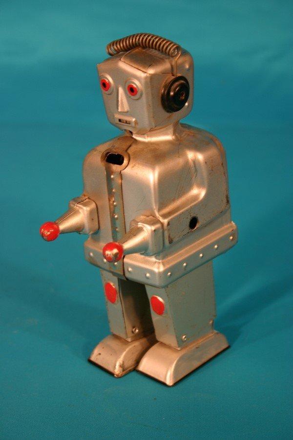 67: Outstanding German metallic key wind robot