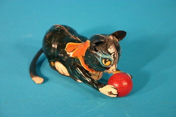 78: Marx tin lithograph key wind cat