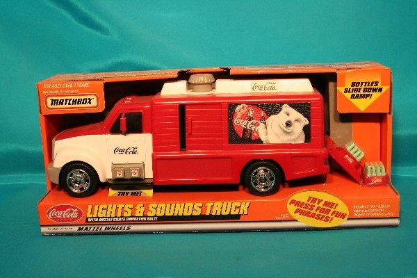 174: Matchbox CocaCola truck