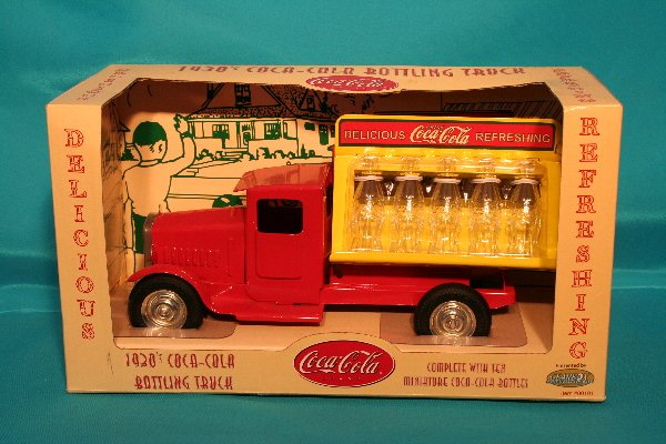 176: Gearbox Toys Coca-Cola truck