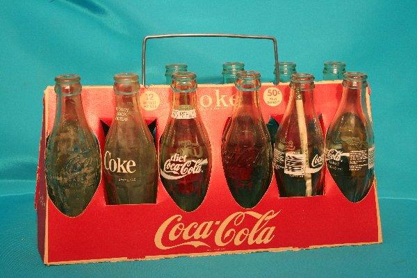 177: Twelve bottle red cardboard carrier