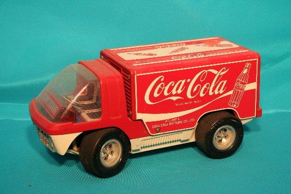 180: Bubble front Coca-Cola toy vehicle