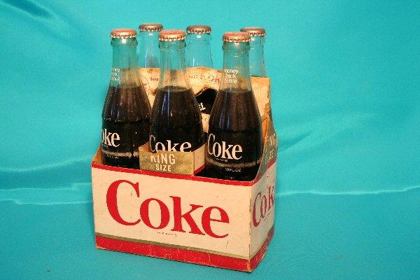 182: King size Coke Six (6) pack