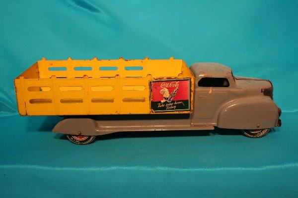 183: Marx Coca-Cola truck metal toy