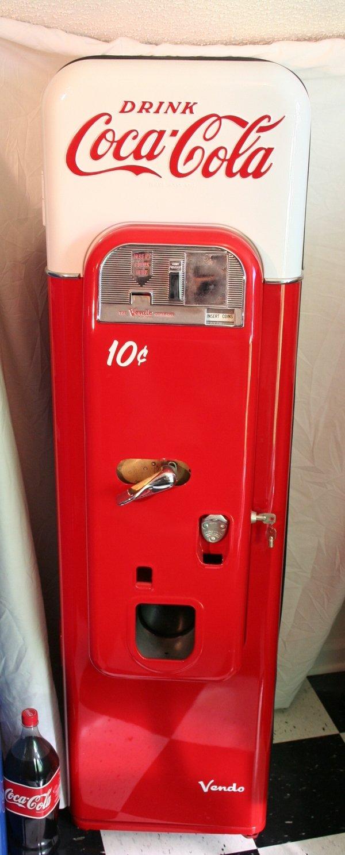 247: Coca-Cola Vendo beverage machine
