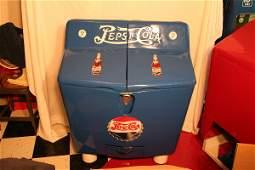251: New contemporary Pepsi-Cola split top cooler
