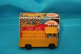170A: Yellow Maxwell Mini Coke truck