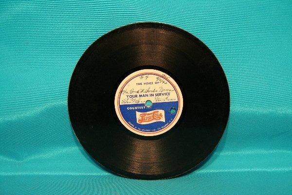 317A: Pepsi-Cola record