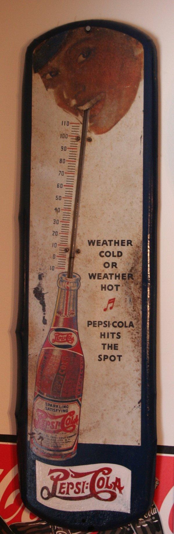 319: Pepsi-Cola thermometer