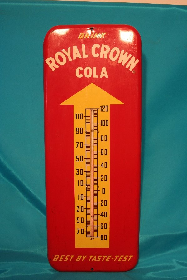 321: Royal Crown Cola thermometer