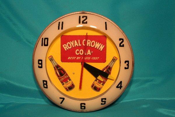 335: rare Royal Crown Cola clock