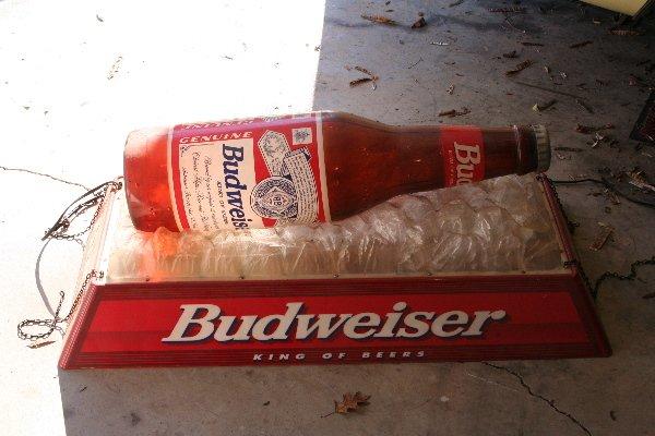 365: Budweiser Pool Table Light