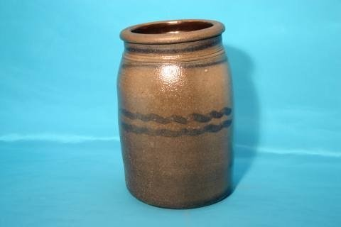 2: Stoneware jar