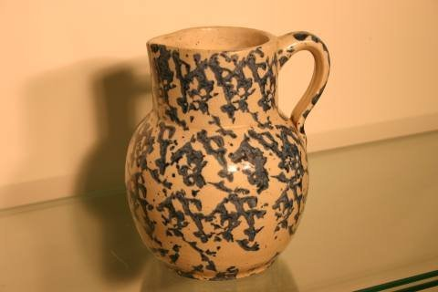 17: Spongeware pitcher