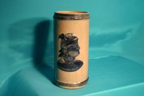 89: Sleepy Eye cylinder vase
