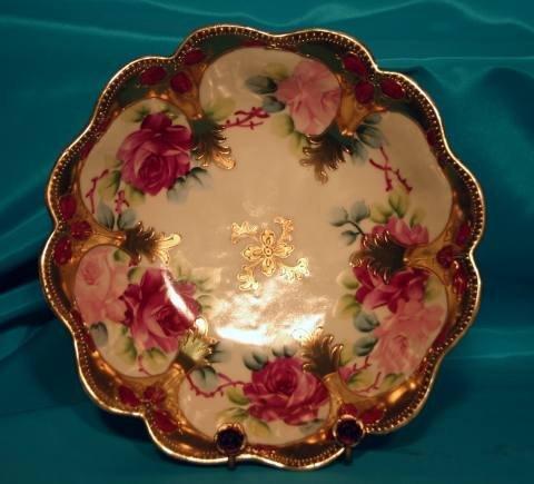161: Nippon floral bowl