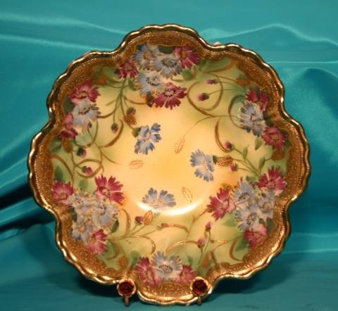 162: Nippon floral bowl
