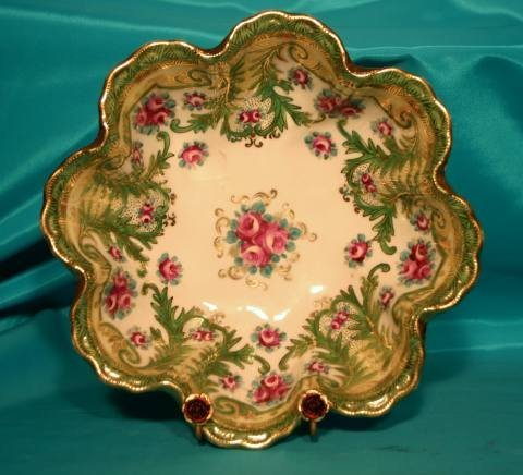 163: Nippon floral bowl