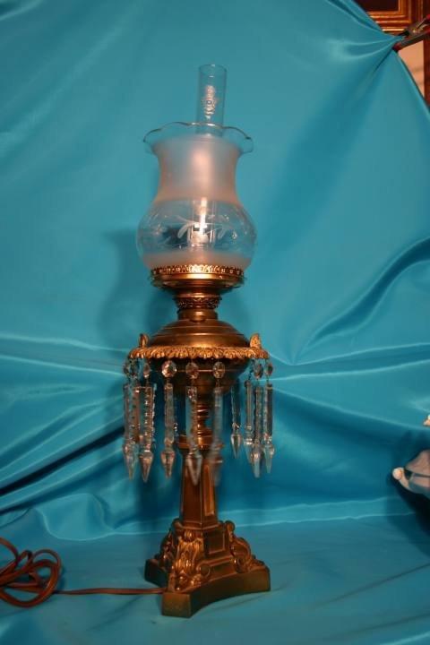 215: Parlor lamp