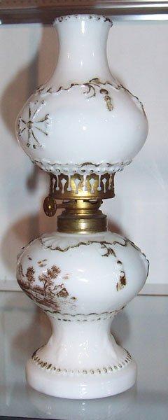 227: Miniature parlor lamp