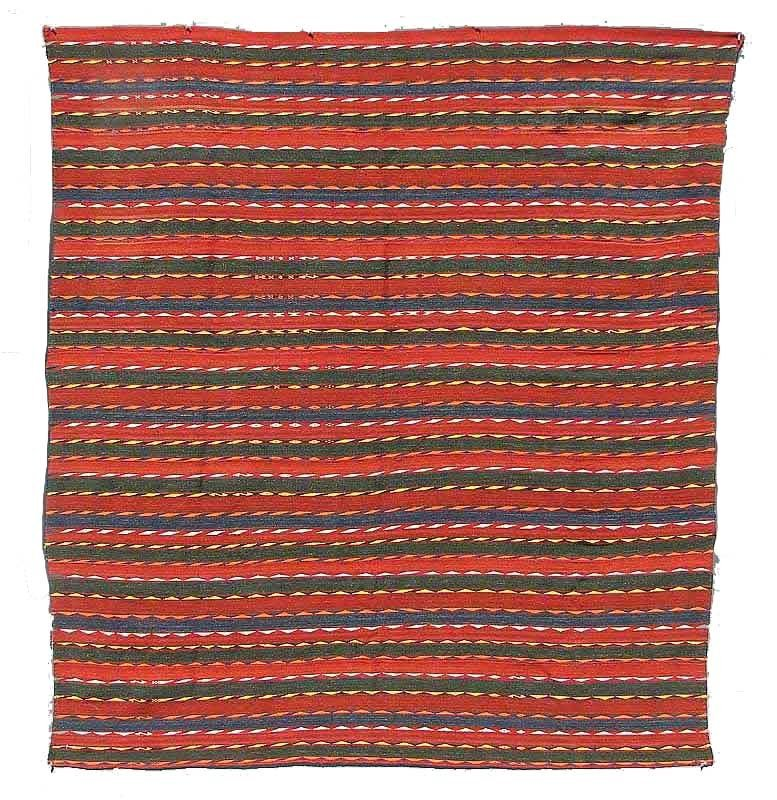 Uzbek Flat Weave, Central Asia, circa 1900,
