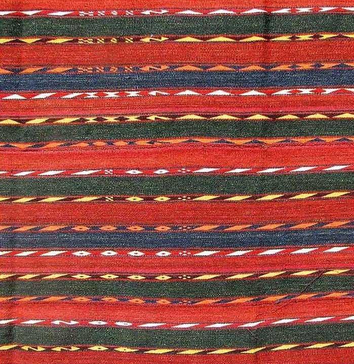 Uzbek Flat Weave, Central Asia, circa 1900, - 2