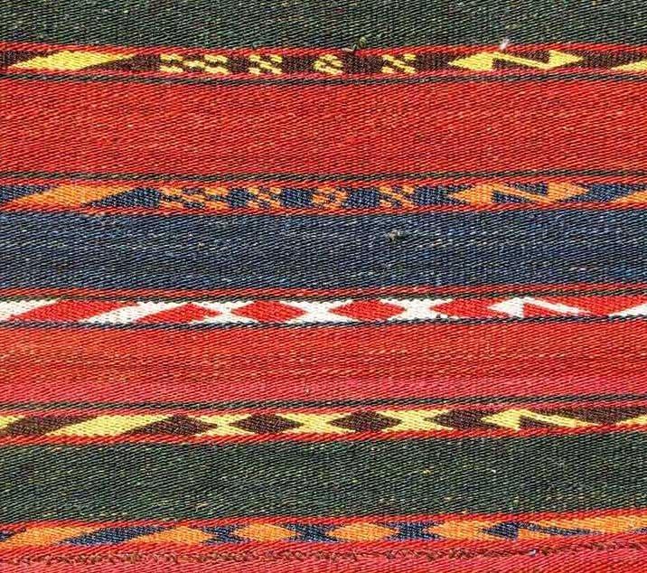 Uzbek Flat Weave, Central Asia, circa 1900, - 3