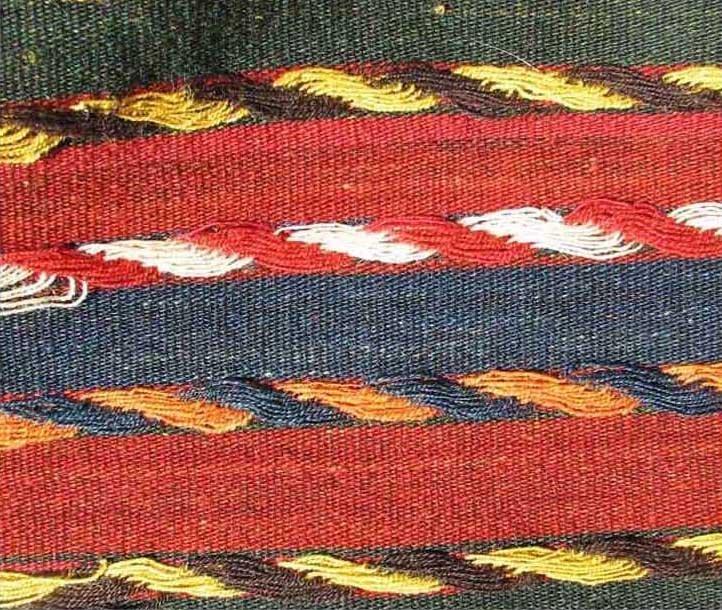 Uzbek Flat Weave, Central Asia, circa 1900, - 4