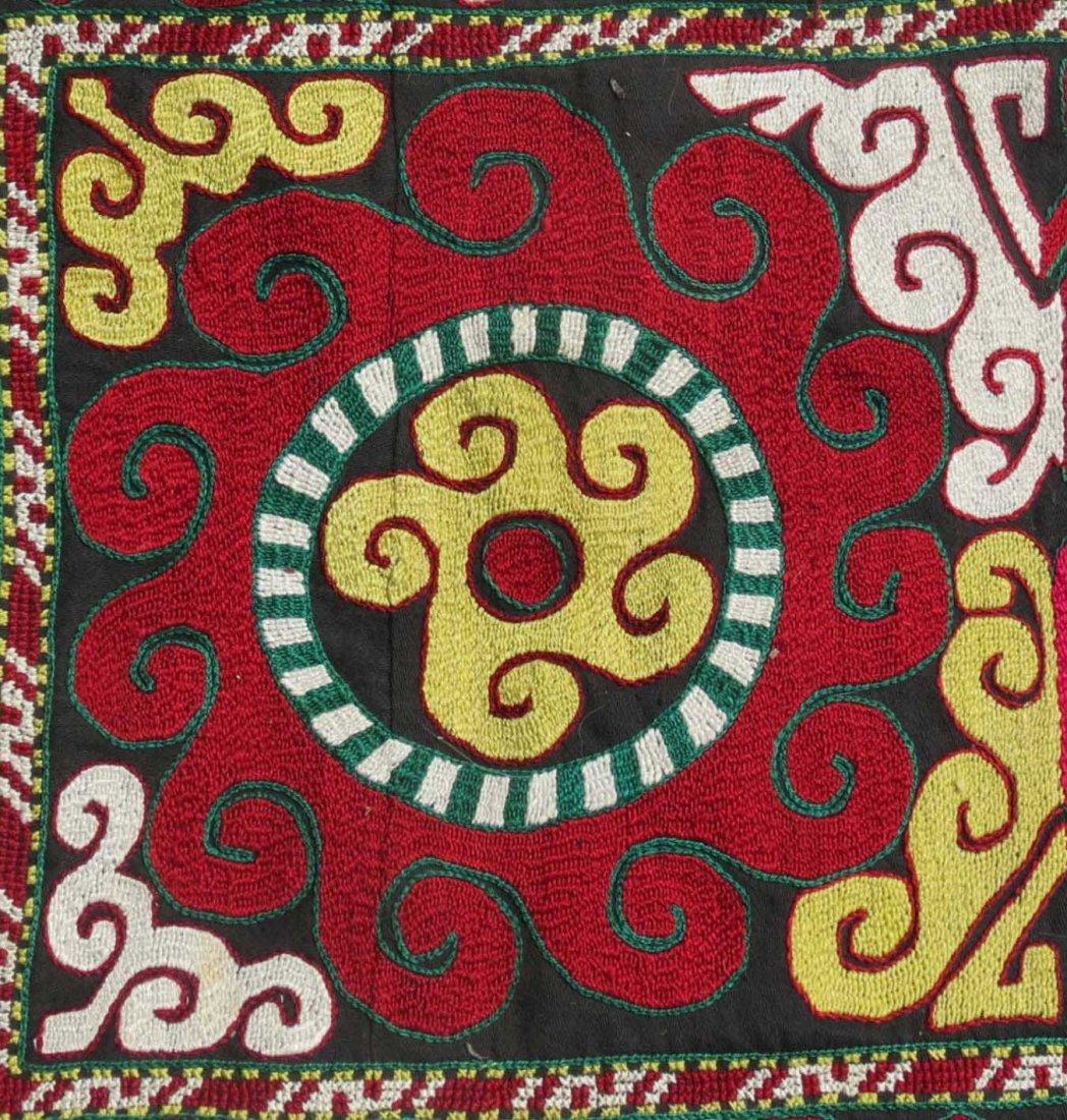 Uzbek Embroidered Bag, Central Asia, 1940s - 2