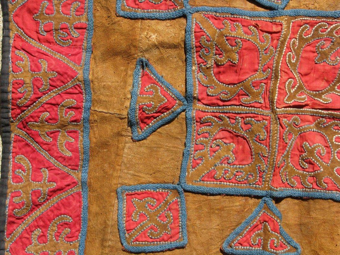 Kirghiz/Kyrgyz Leather Applique, circa 1900 - 3