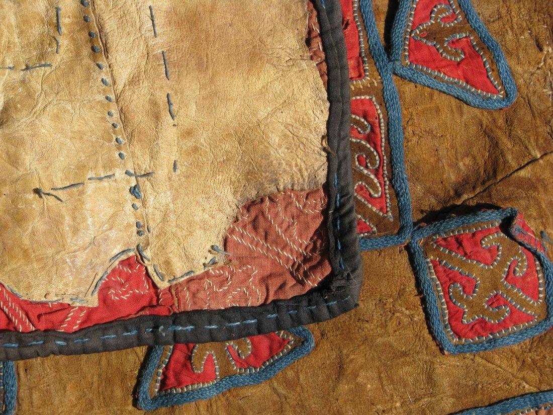 Kirghiz/Kyrgyz Leather Applique, circa 1900 - 4
