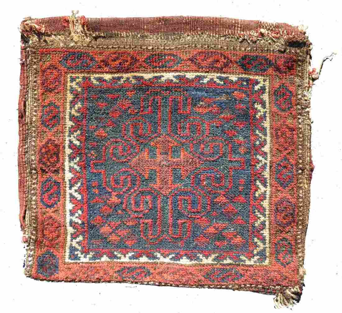 Baluch Bag Face, W. Afghanistan, 19th C