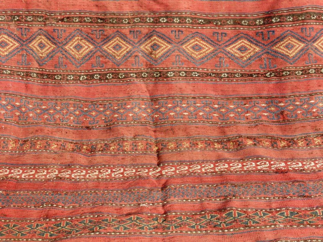 Uzbek Kilim, Central Asian - 3