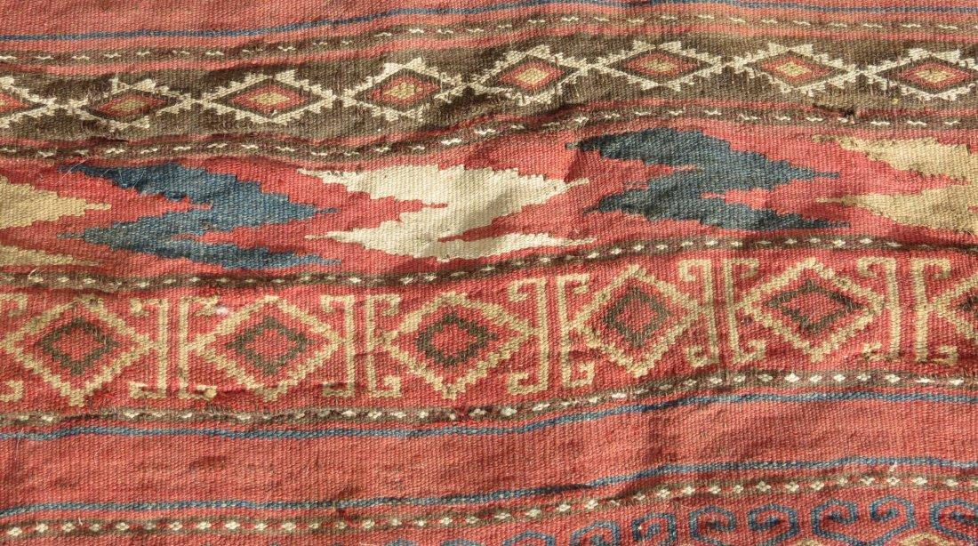 Uzbek Kilim, Central Asian - 7
