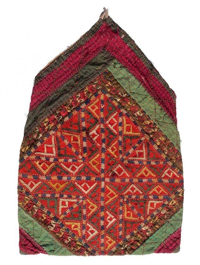 Tekke Turkmen Embroidered Bag, circa 1900,