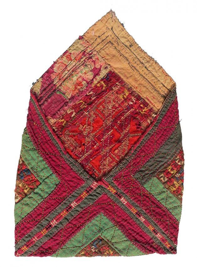 Tekke Turkmen Embroidered Bag, circa 1900, - 3