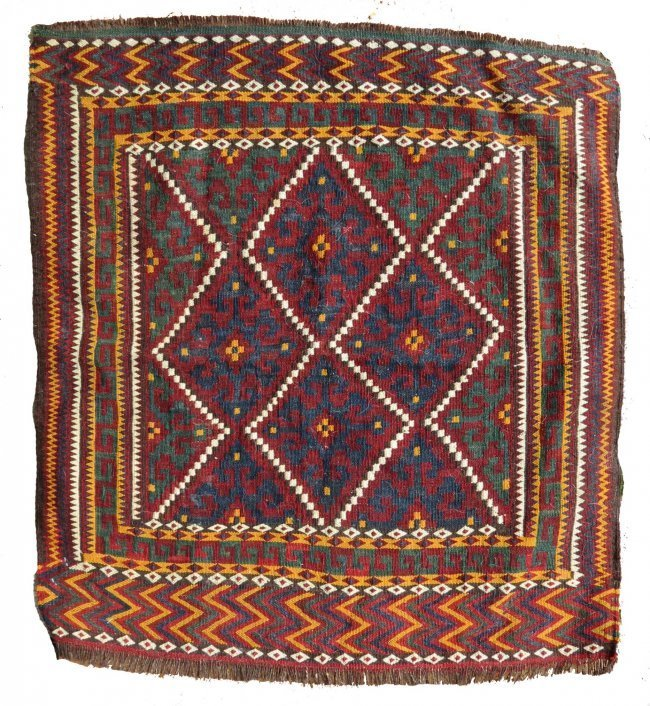 Uzbek Bag Face, Afghanistan, early 20th C.