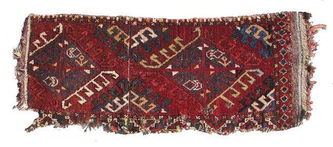 Uzbek Bag Face, circa 1900