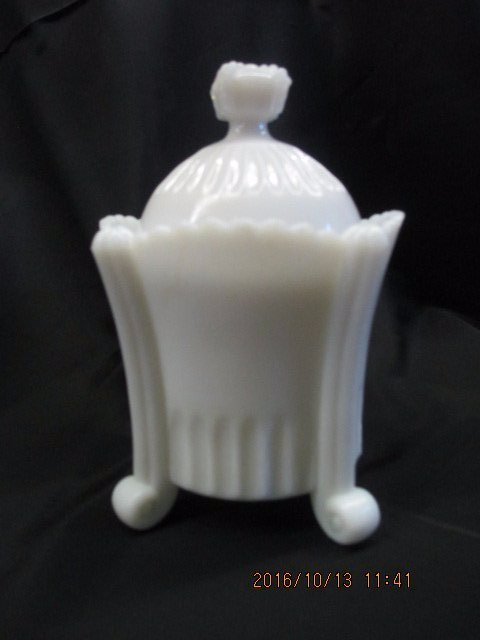 Milk Glass Dish