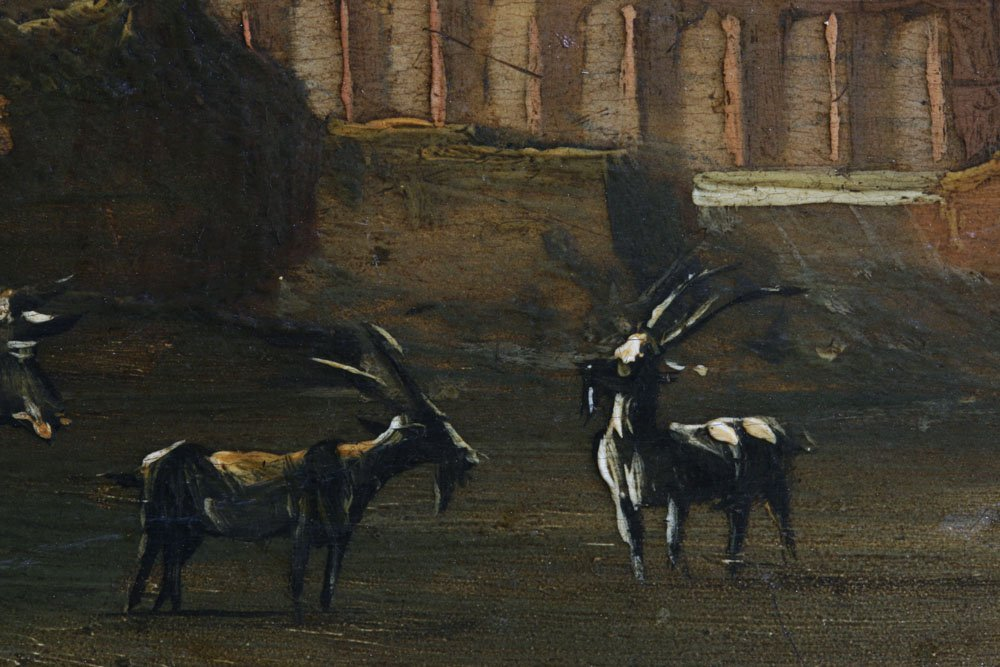 Small Dutch or Italian Landscape Painting-17th Century - 9