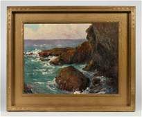 Early California Impressionist Painting - Signed