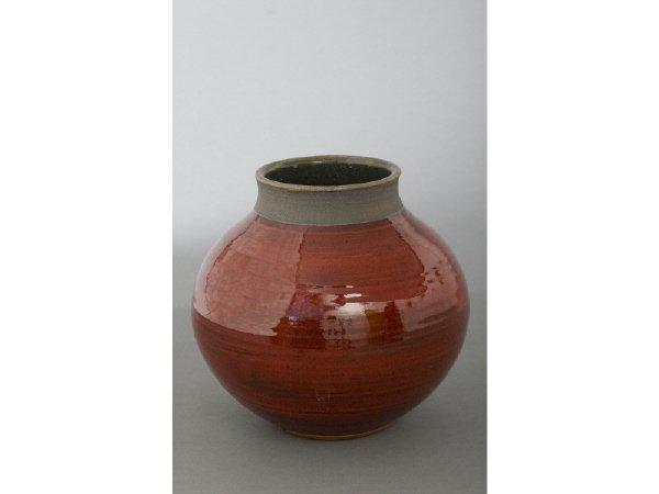 5: Larry Allen, Round Vase