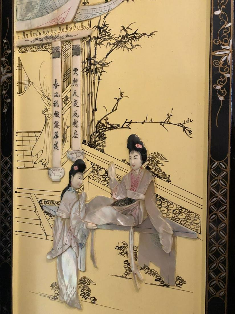 CHINESE WALL PLAQUES
