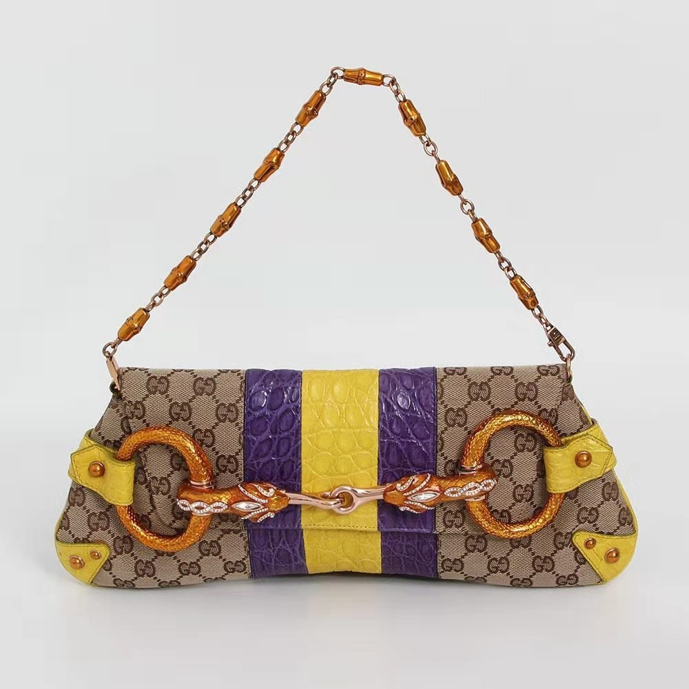 GUCCI Tom Ford limited edition snakehead bag.