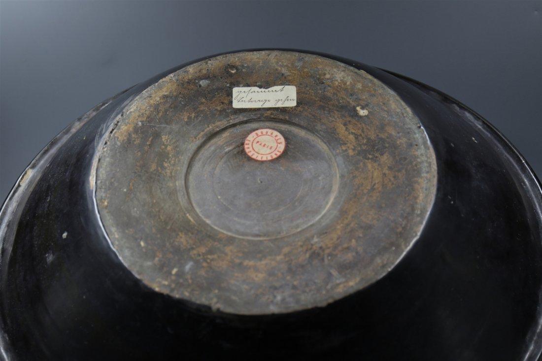 Chinese Black-White Porcelain Big Bowl - 5